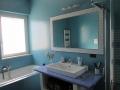 il bagno comune - lo specchio