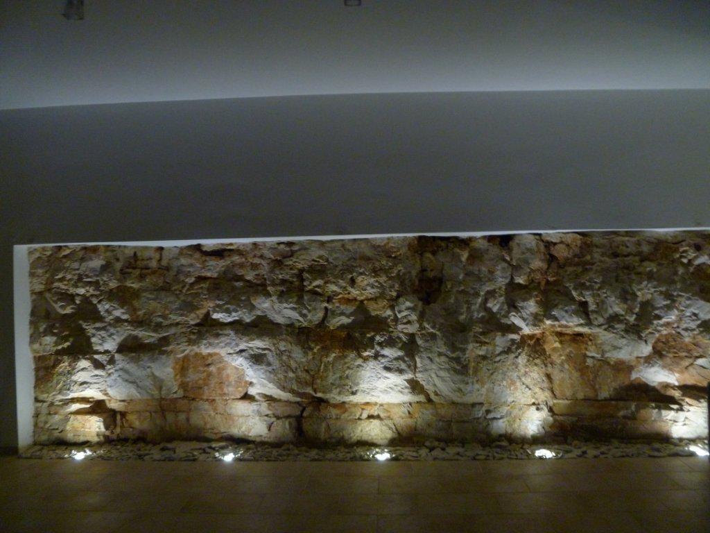 zona relax muro di roccia