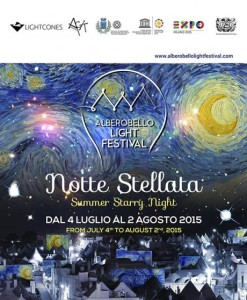 Alberobello Notte stellata